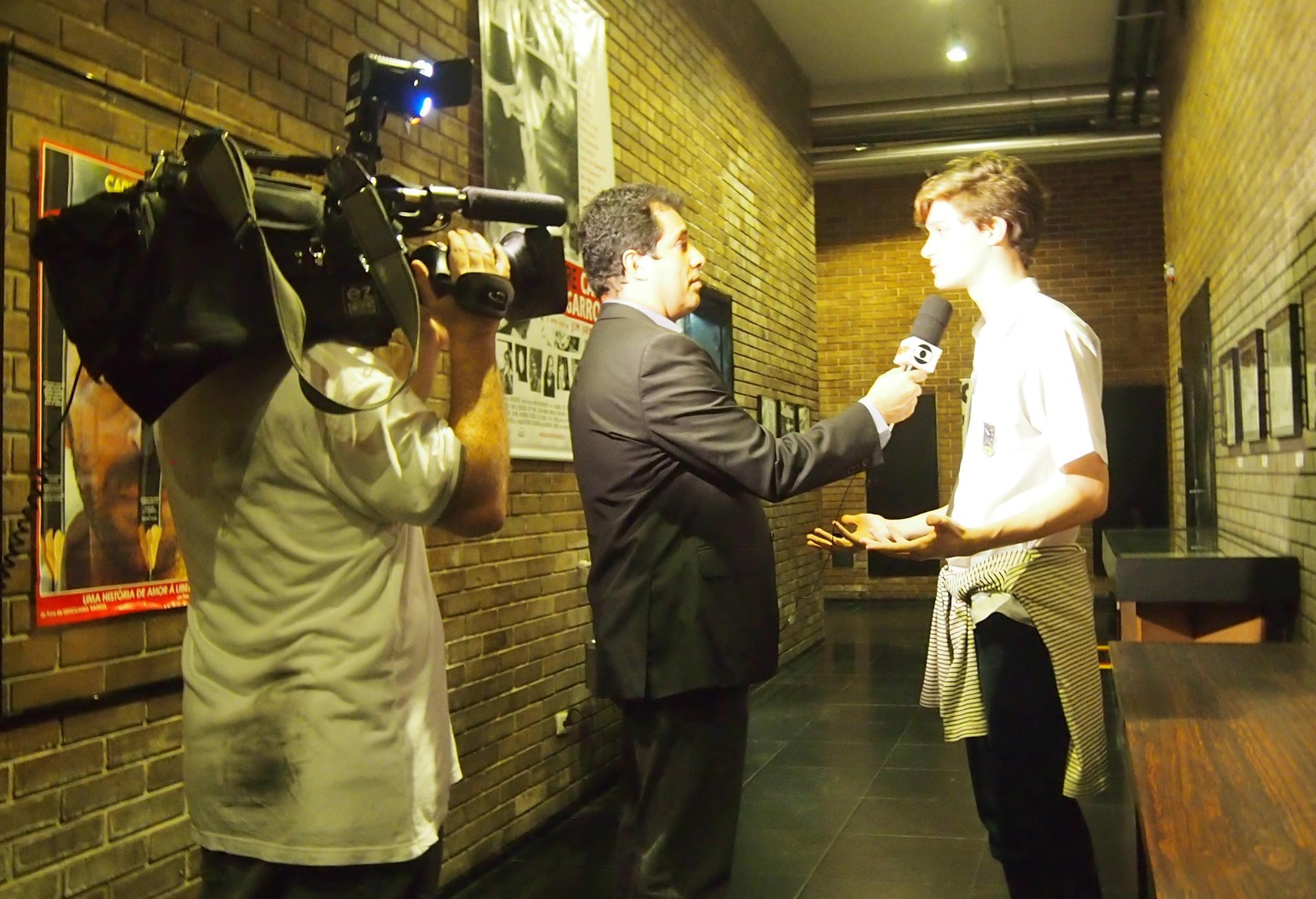 Andre Trigueiro - GloboNews at Uranium Film Festival MAM Rio