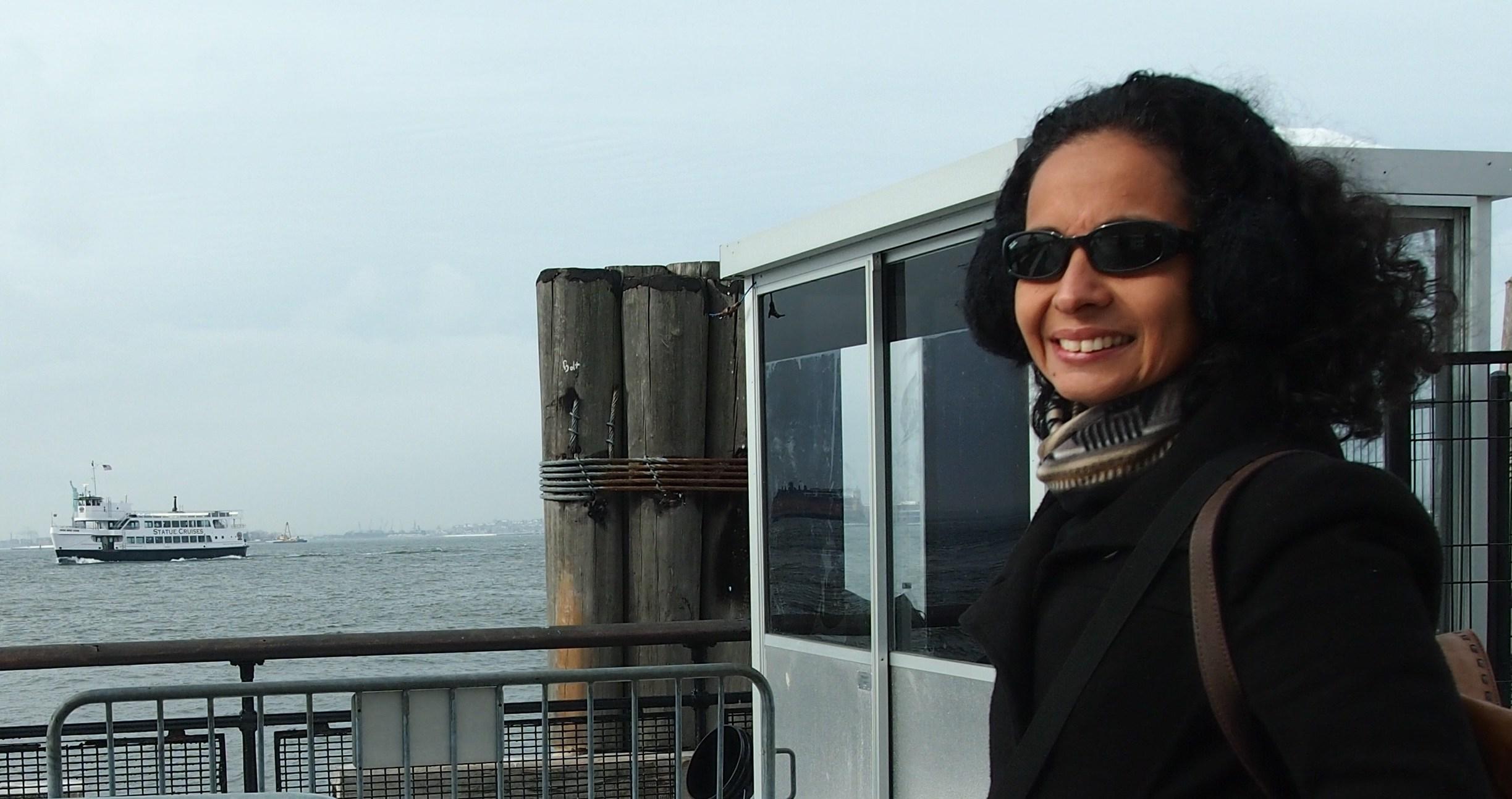 Director Marcia Gomes in New York City - Uranium Film Festival