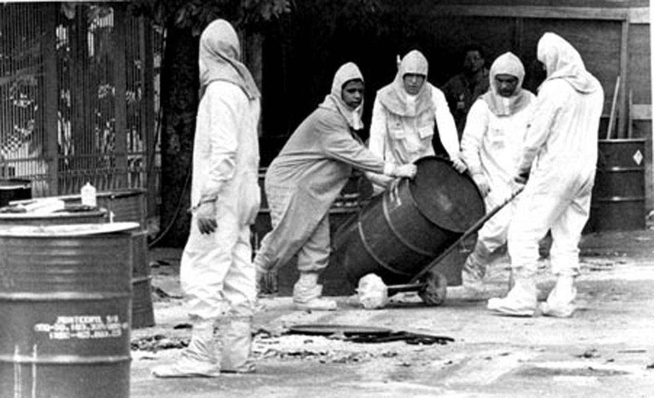 Acidente com césio 137 em Goiânia em 1987