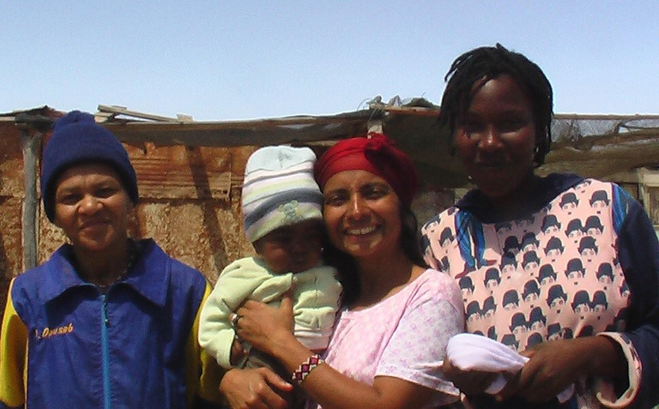 Uranium Film Festival Director Marcia Gomes in Namibia