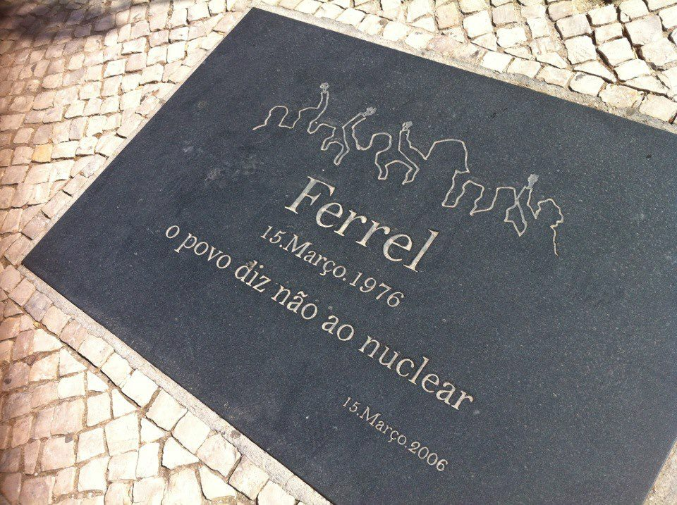 1976 the people of Ferrel said No to nuclear power in Portugal