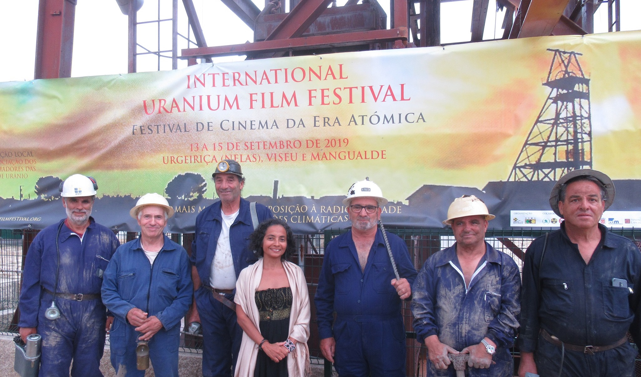 Uranium Film Festival in Portugal 2019 - Urgeirica Uranium Mine
