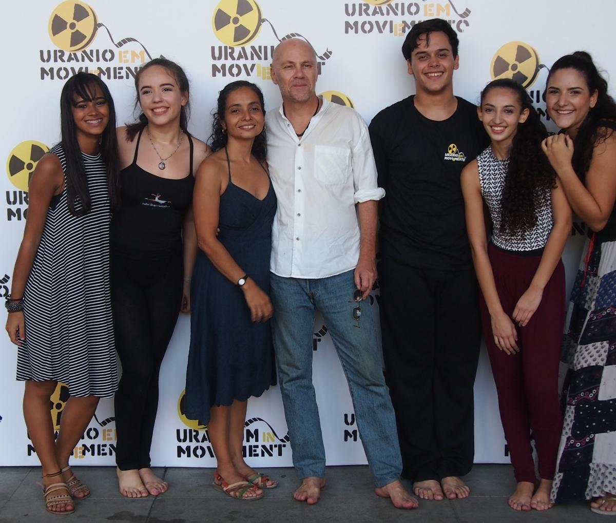Uranium Film Festival Rio Volunteers and directors