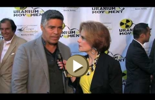 Esai Morales about the Uranium Film Festival